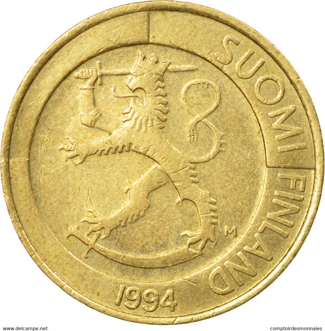 Monnaie, Finlande, Markka, 1994, TTB, Aluminum-Bronze, KM:76 - Finlande