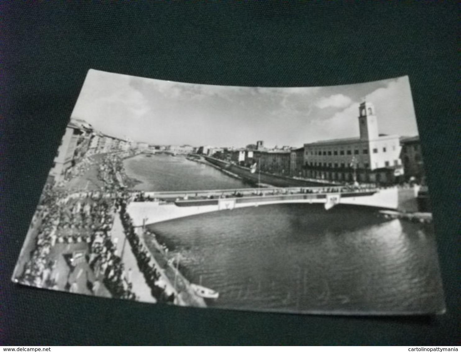 PONTE  BRIDGE REGATE DELLE 4 REPUBBLICHE MARINARE  CORTEO STORICO VISIONE DALL'ALTO PISA - Manifestazioni