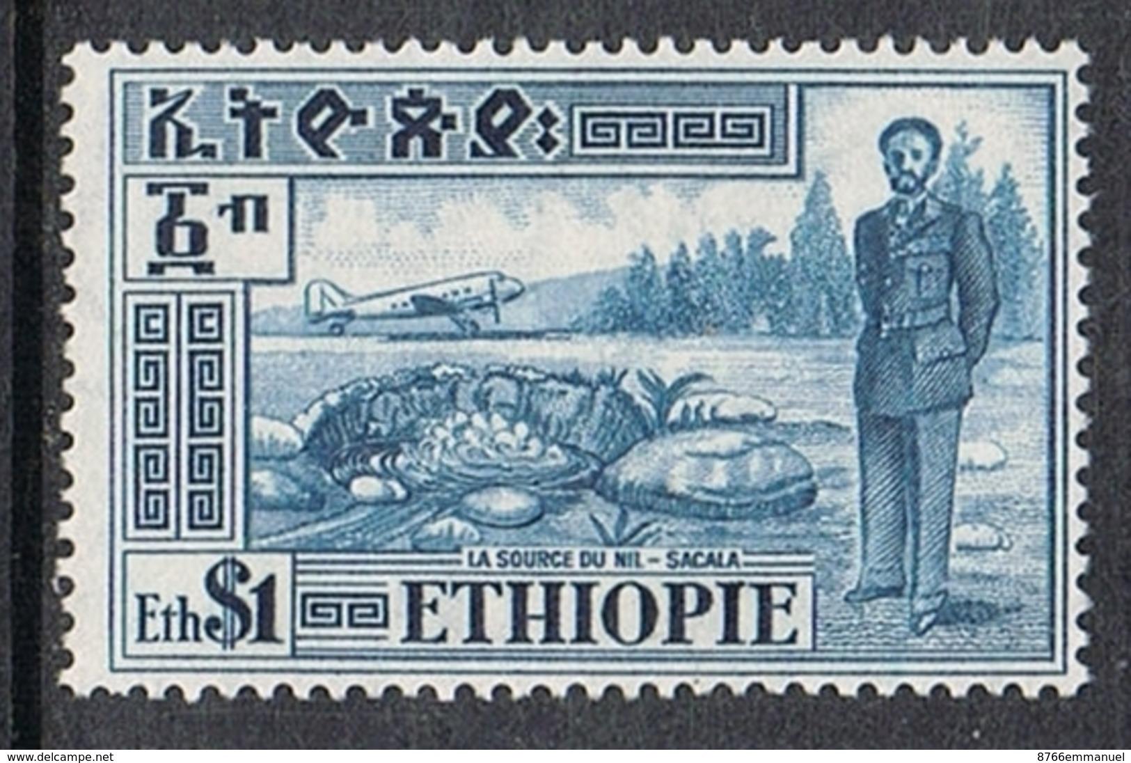 ETHIOPIE AERIEN N°27 N** - Ethiopie