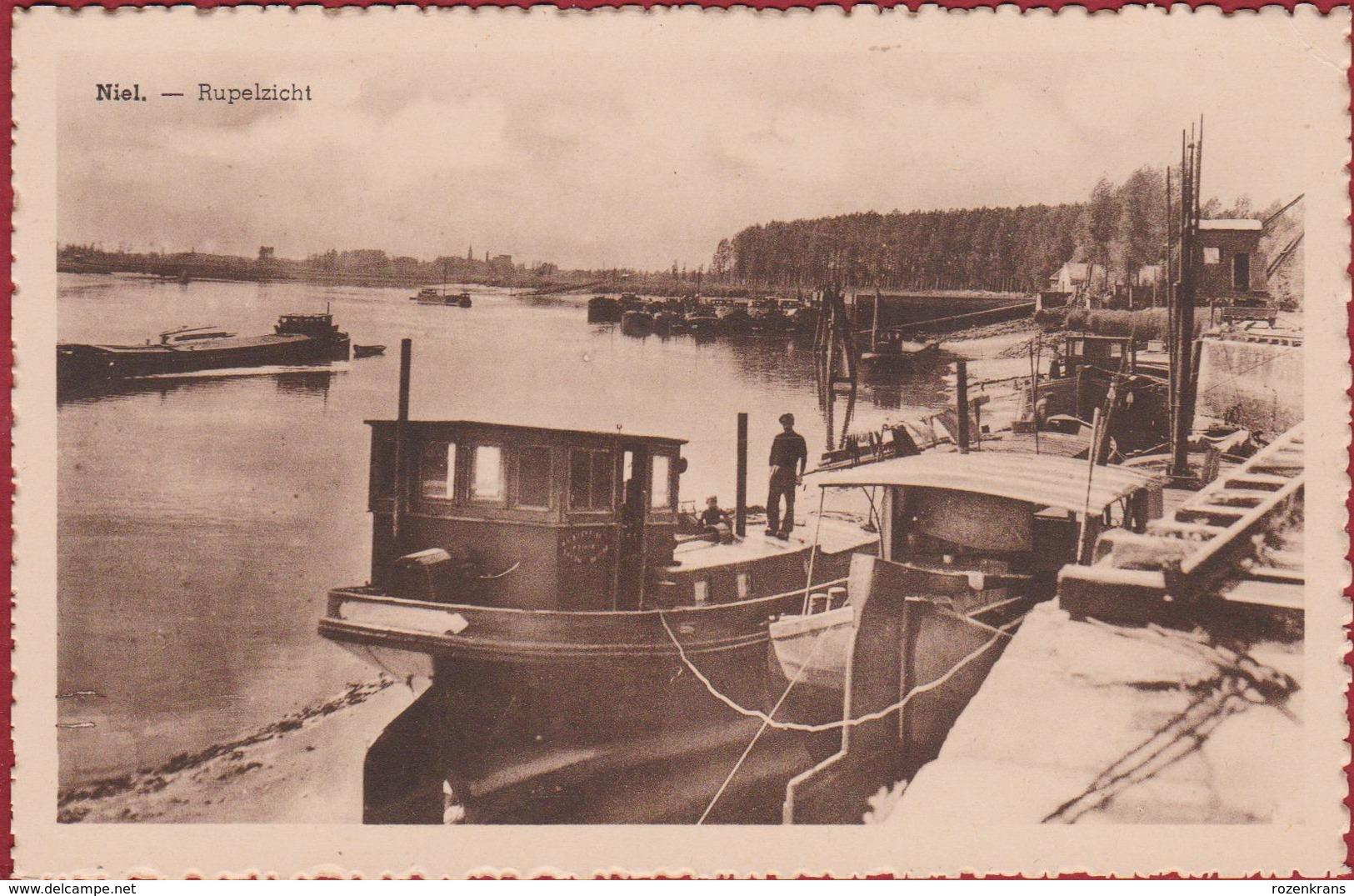 Niel Aan De Rupel Rupelzicht Barge Peniche Binnenschip Boat - Niel