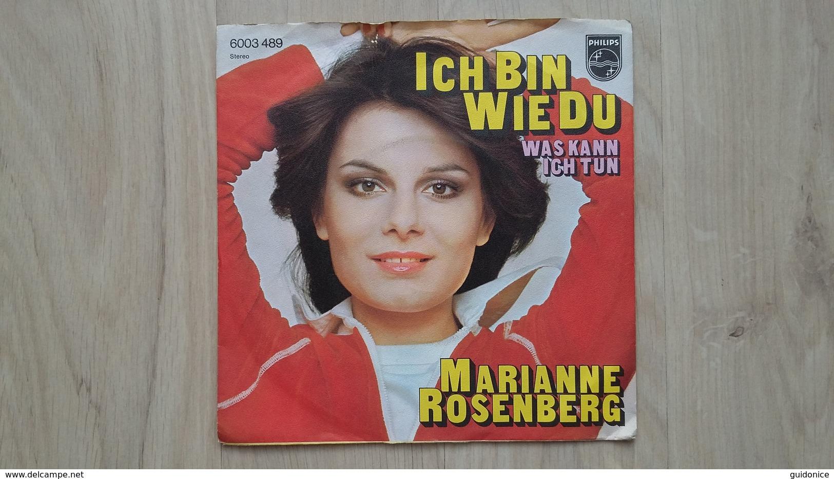 Marianne Rosenberg - Ich Bin Wie Du - Vinyl-Single - Vinyl-Schallplatten