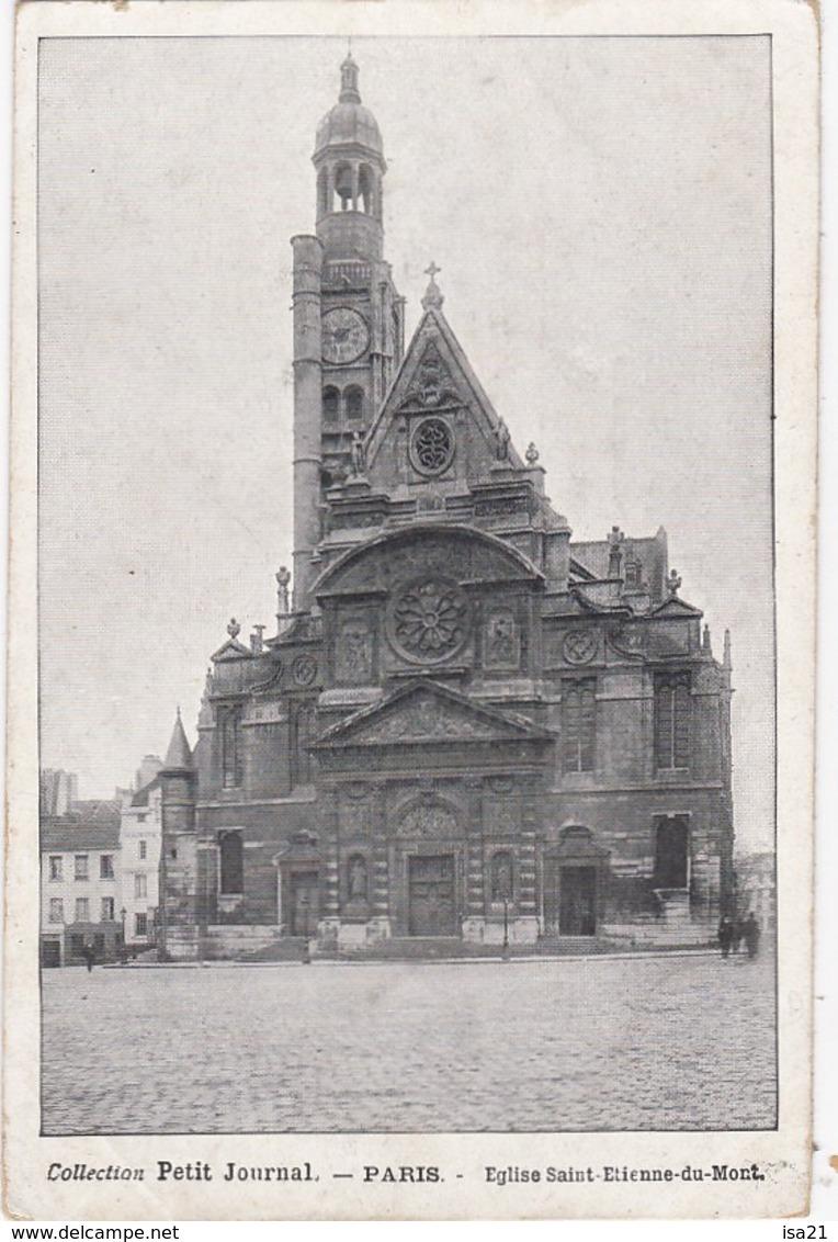 Lot De 50 CPA De PARIS Toutes Scannées: Monuments;; Tour Eiffel, Ponts; églises, Rues, Etc. - Cartes Postales