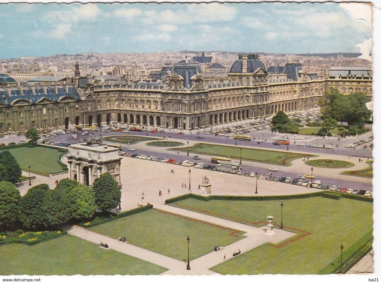 Lot De 50 CPM De PARIS Toutes Scannées: Monuments;; Tour Eiffel, Ponts; églises, Rues, La Seine,  Etc. - Cartes Postales