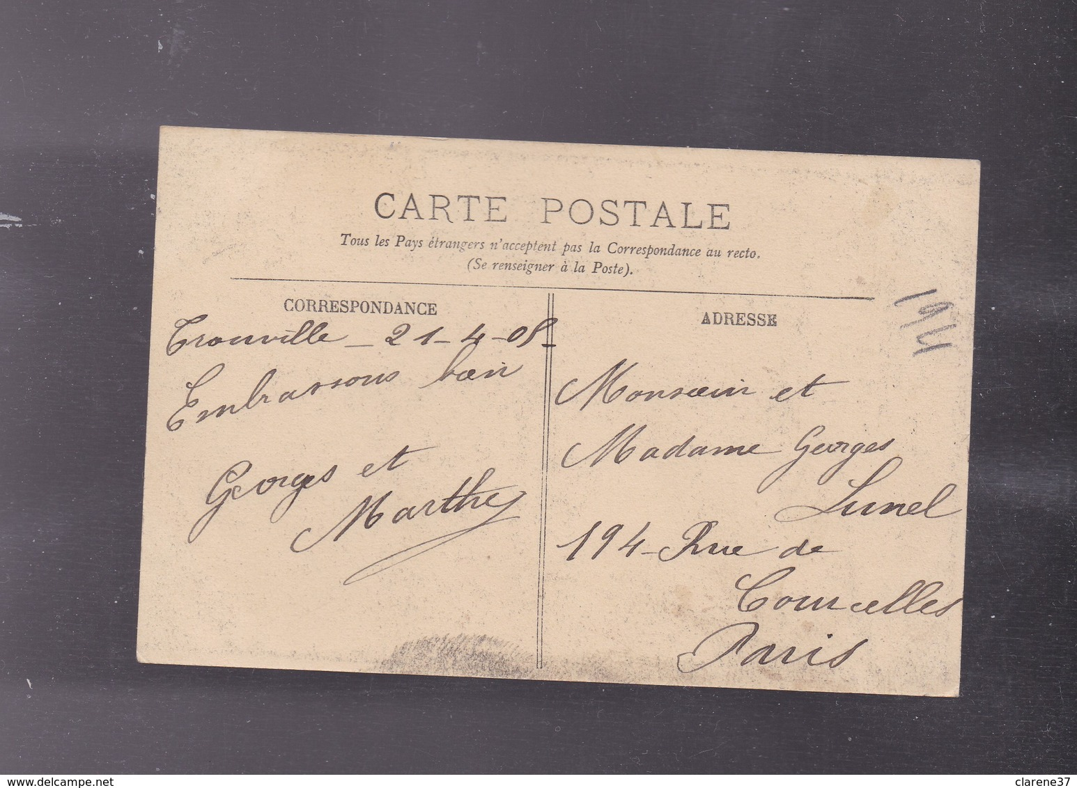 """76 SEINE MARITIME , LE HAVRE , Compagnie Transatlantique , """" La Lorraine """" Le Salon - Le Havre"""