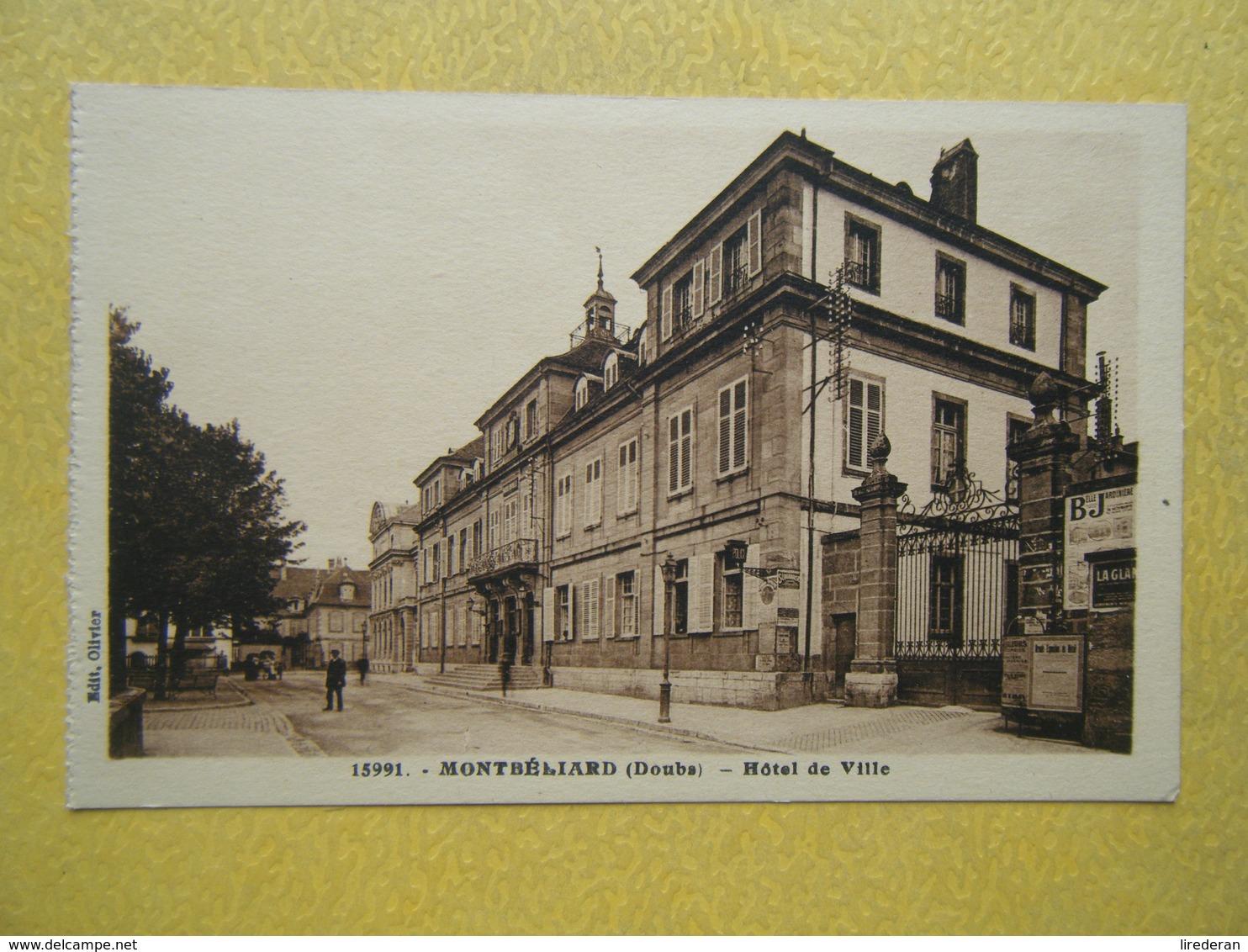 MONTBELIARD. L'Hôtel De Ville. - Montbéliard