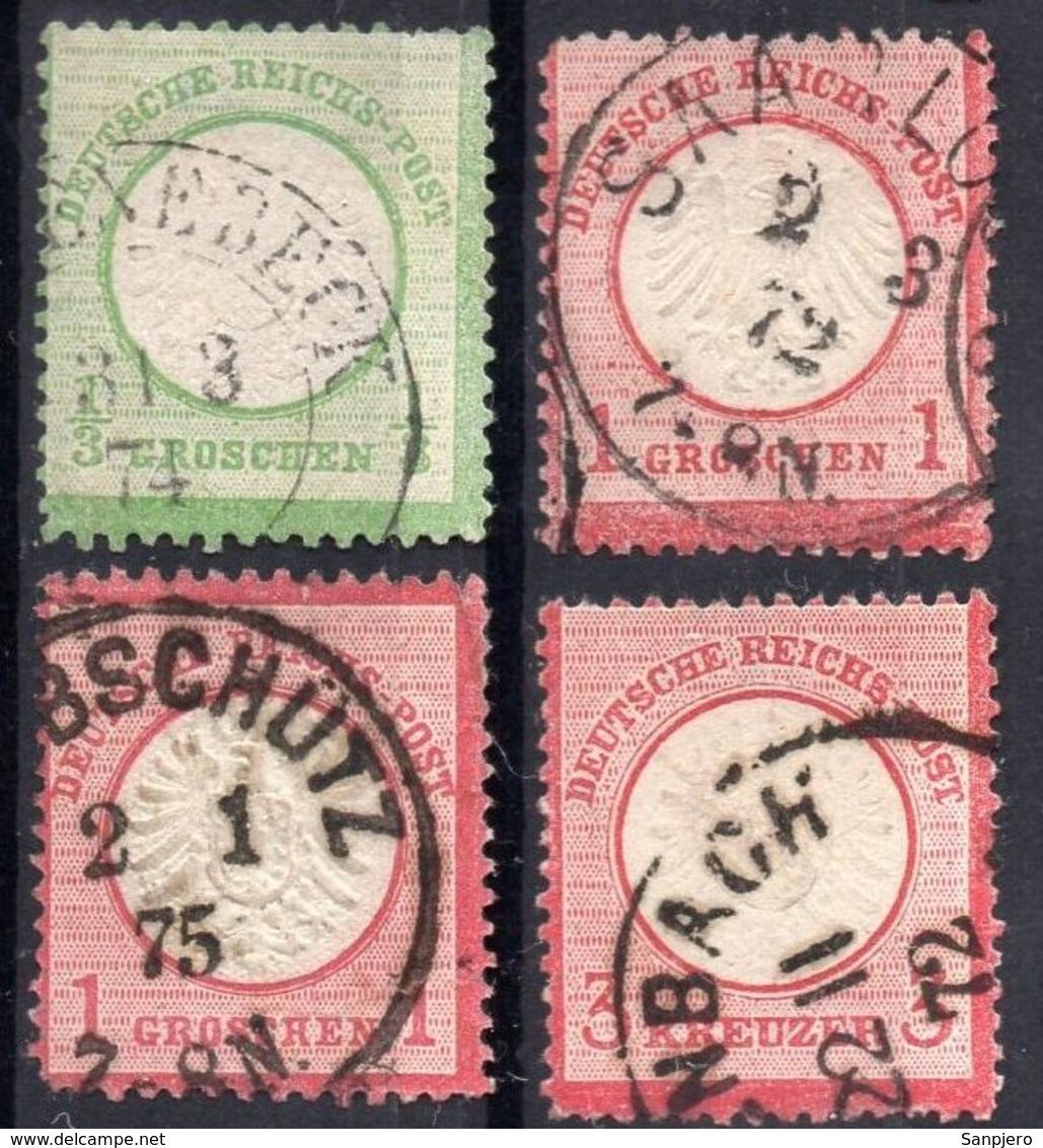 DR REICH MINI LOT BRUSTSCHILDE (BREAST SHIELD) GESTEMPELT - Deutschland