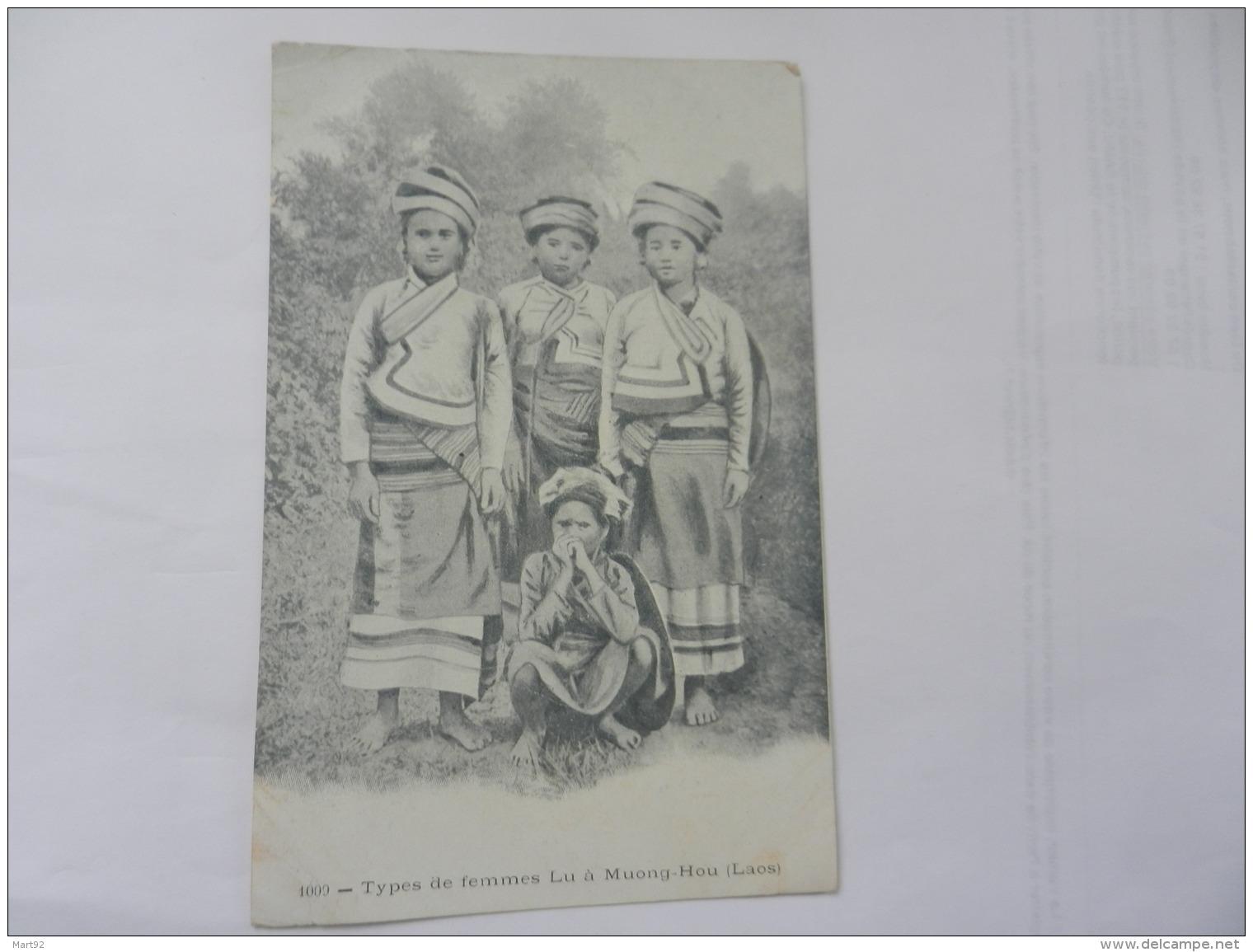TYPES DE FEMMES LU A MUONG HOU - Laos