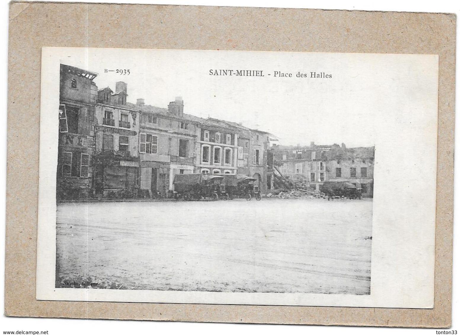 SAINT MIHIEL - 55 - Place Des Halles - DELC3 - - Saint Mihiel