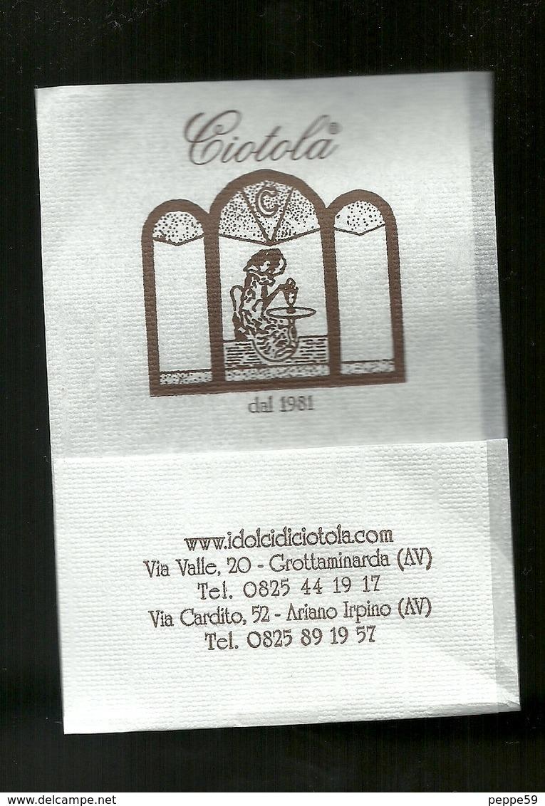Tovagliolino Da Caffè - Bar Ciotola ( Grottaminarda ) Avellino - Tovaglioli Bar-caffè-ristoranti