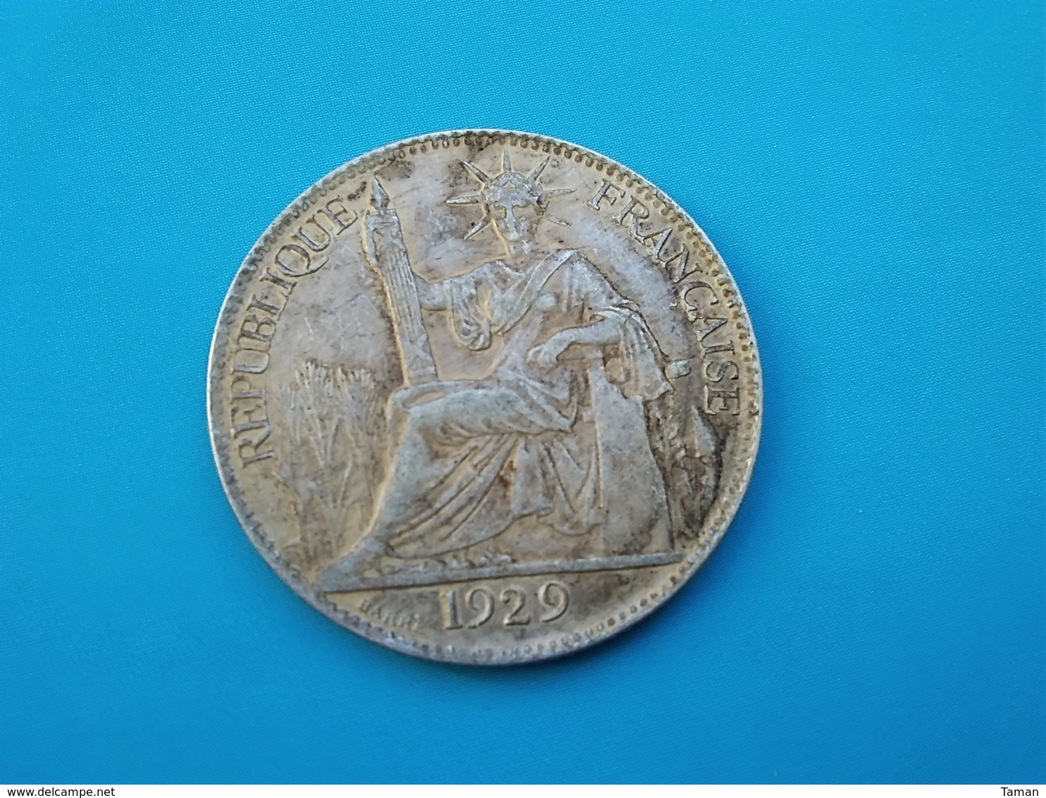 INDOCHINE   20 Cents  1929   - Faux - - Colonie