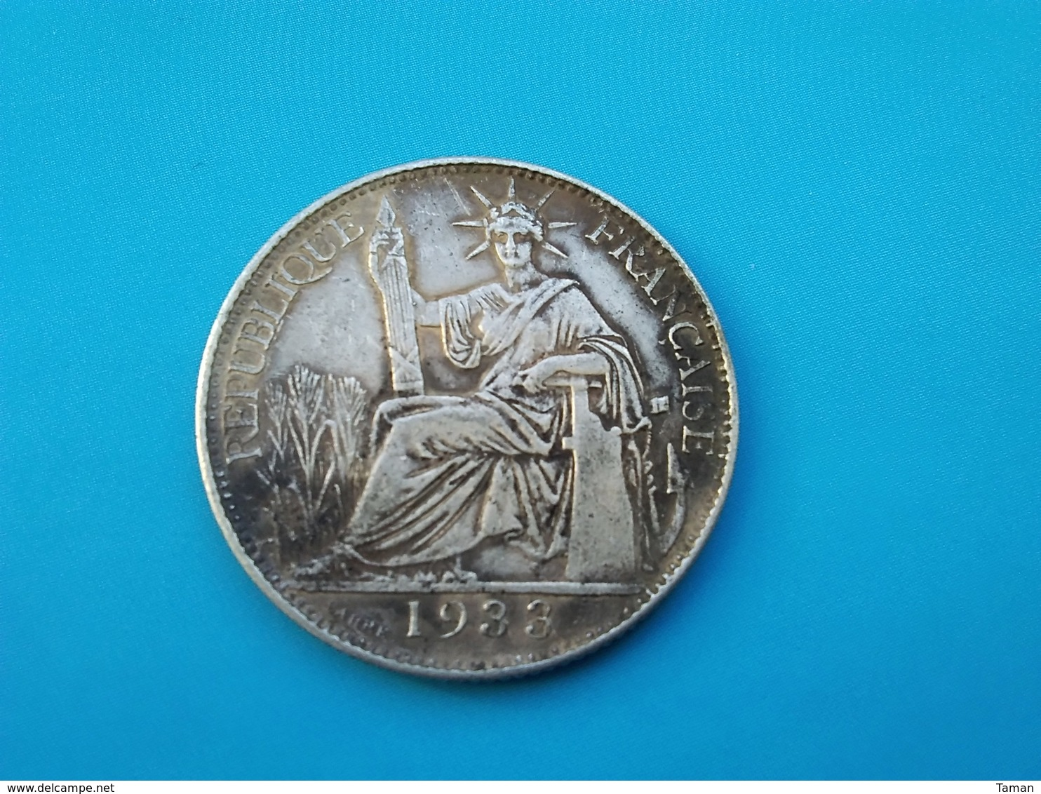 INDOCHINE   20 Cents  1933   - Faux - - Colonie