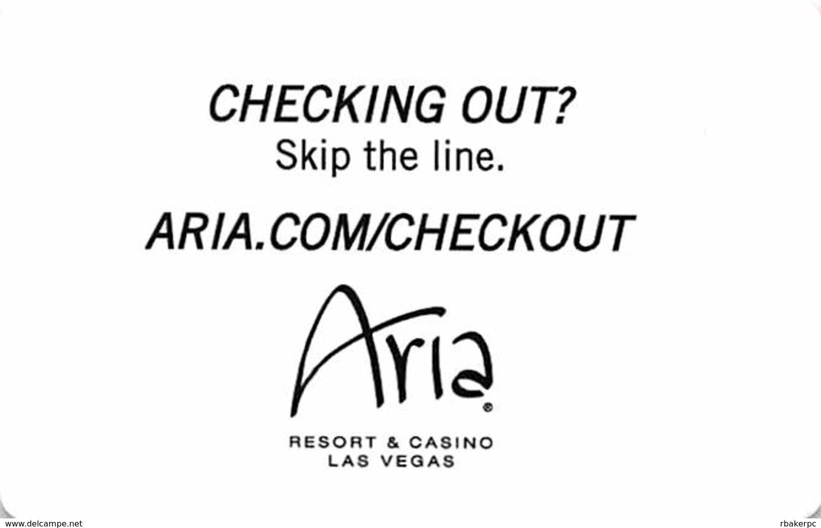 Aria Casino - Las Vegas, NV - RFID Hotel Room Key Card - Hotel Keycards