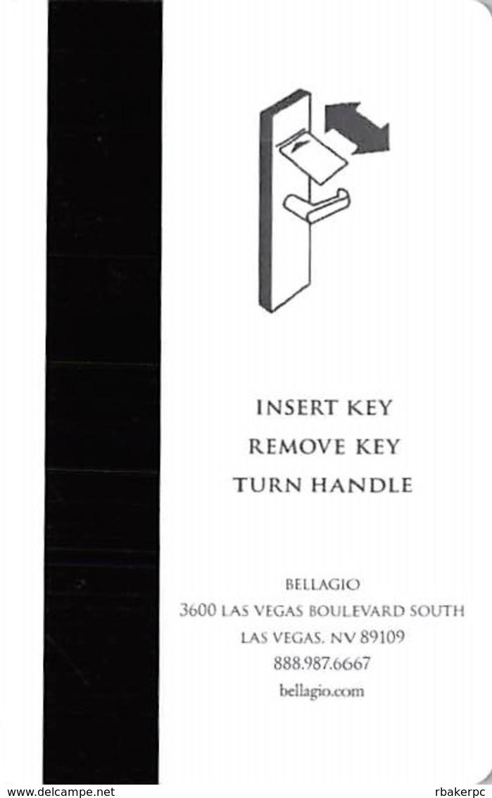 Bellagio Casino - Las Vegas, NV - Hotel Room Key Card - Hotel Keycards