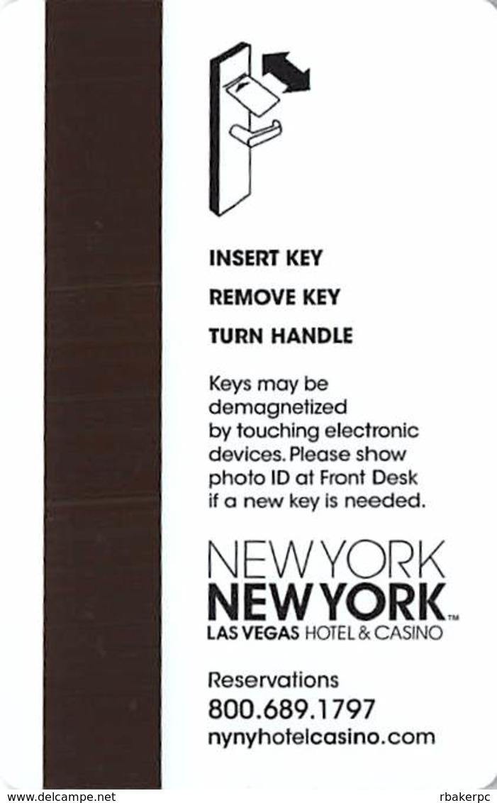 New York New York Casino Las Vegas Hotel Room Key Card - Hotel Keycards