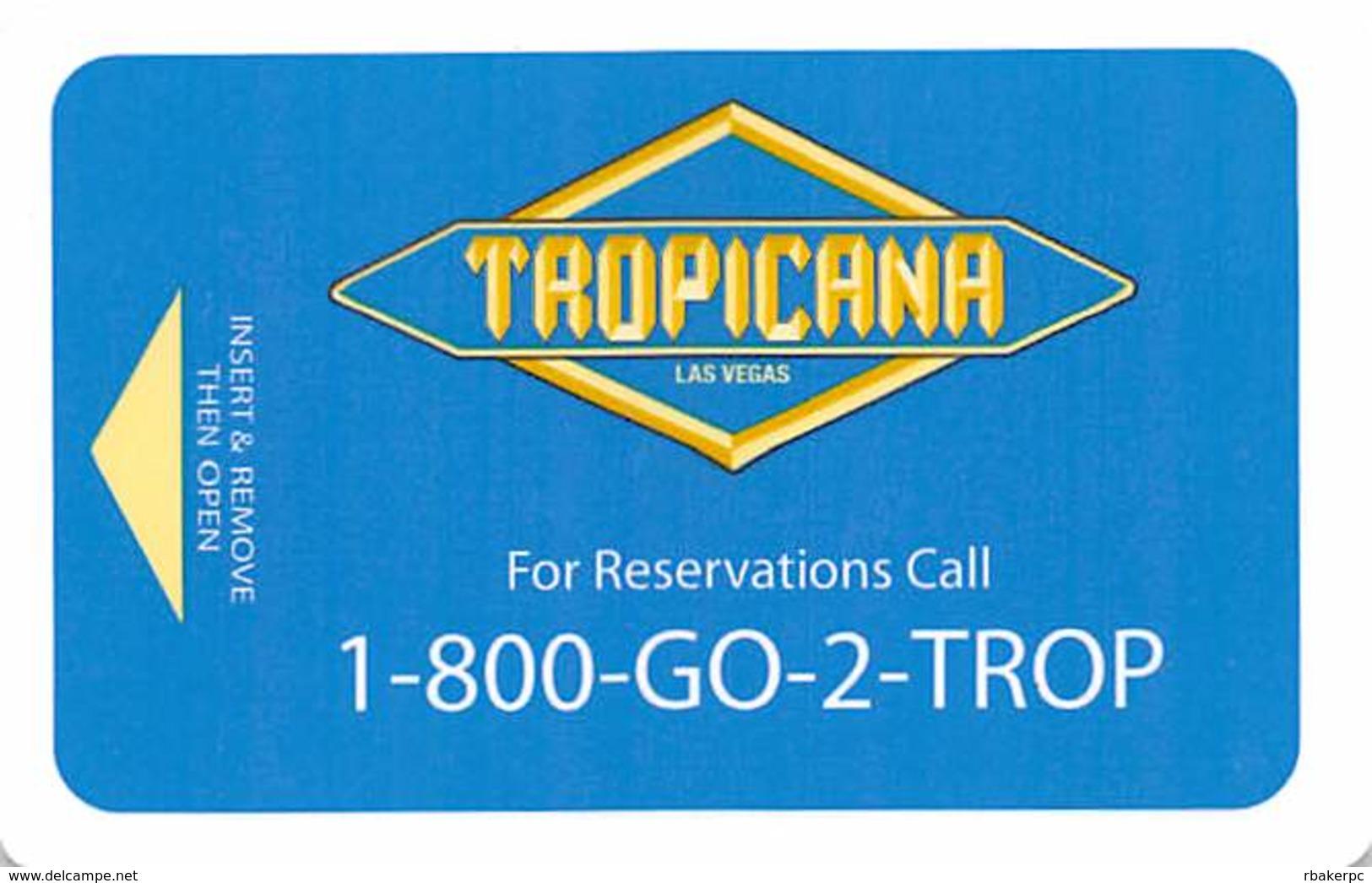 Tropicana Casino Las Vegas Hotel Room Key Card - Hotel Keycards