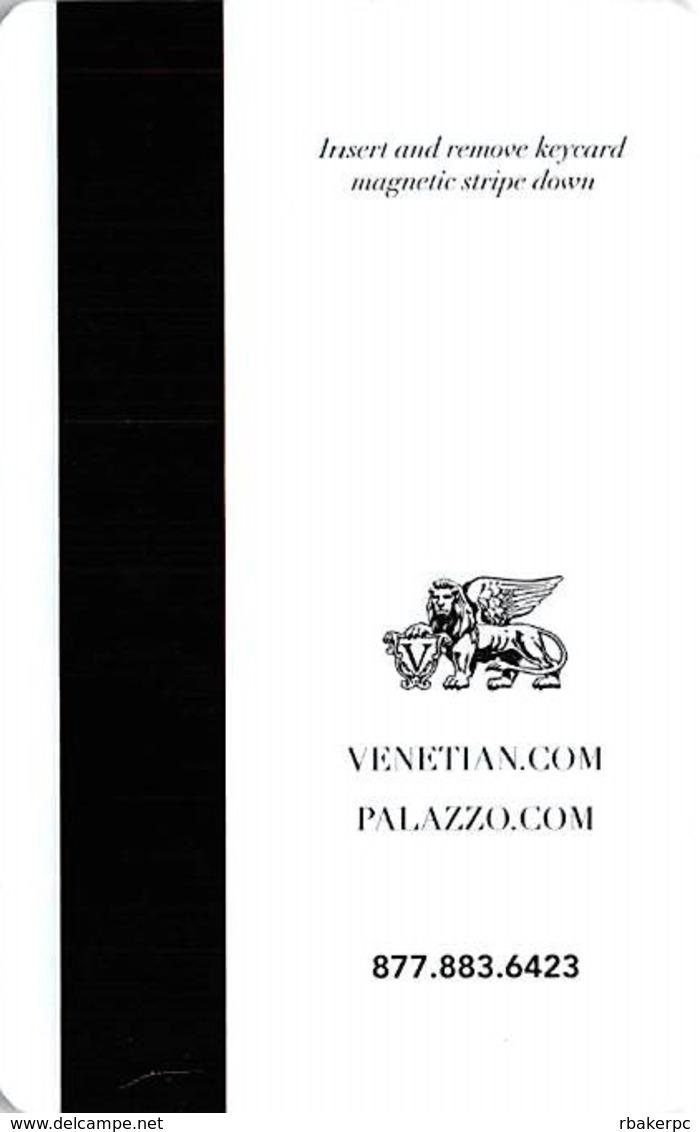 Venetian & Palazzo Casinos Las Vegas Hotel Room Key Card - Hotel Keycards