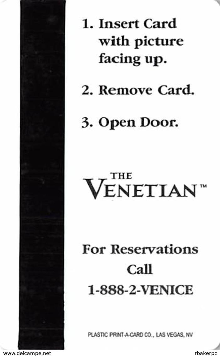 Venetian Casino Las Vegas Hotel Room Key Card - Hotel Keycards
