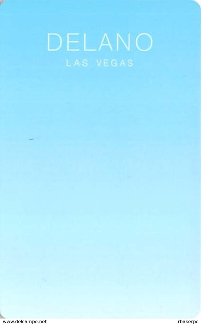 Delano Hotel Las Vegas NV - Hotel Room Key Card - Hotel Keycards