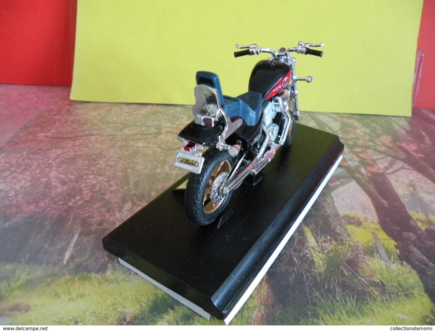 Honda Steed 600 - Métal Neuf - 1/18 - Welly - - Motos