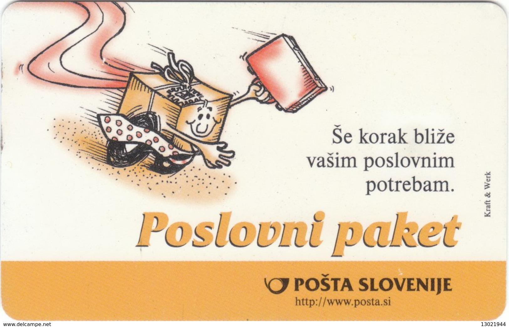 SLOVENIA SCHEDA TELEFONICA Jadrnica Soling / Poslovni Paket (Pošta Slovenije) - Telefonkarten