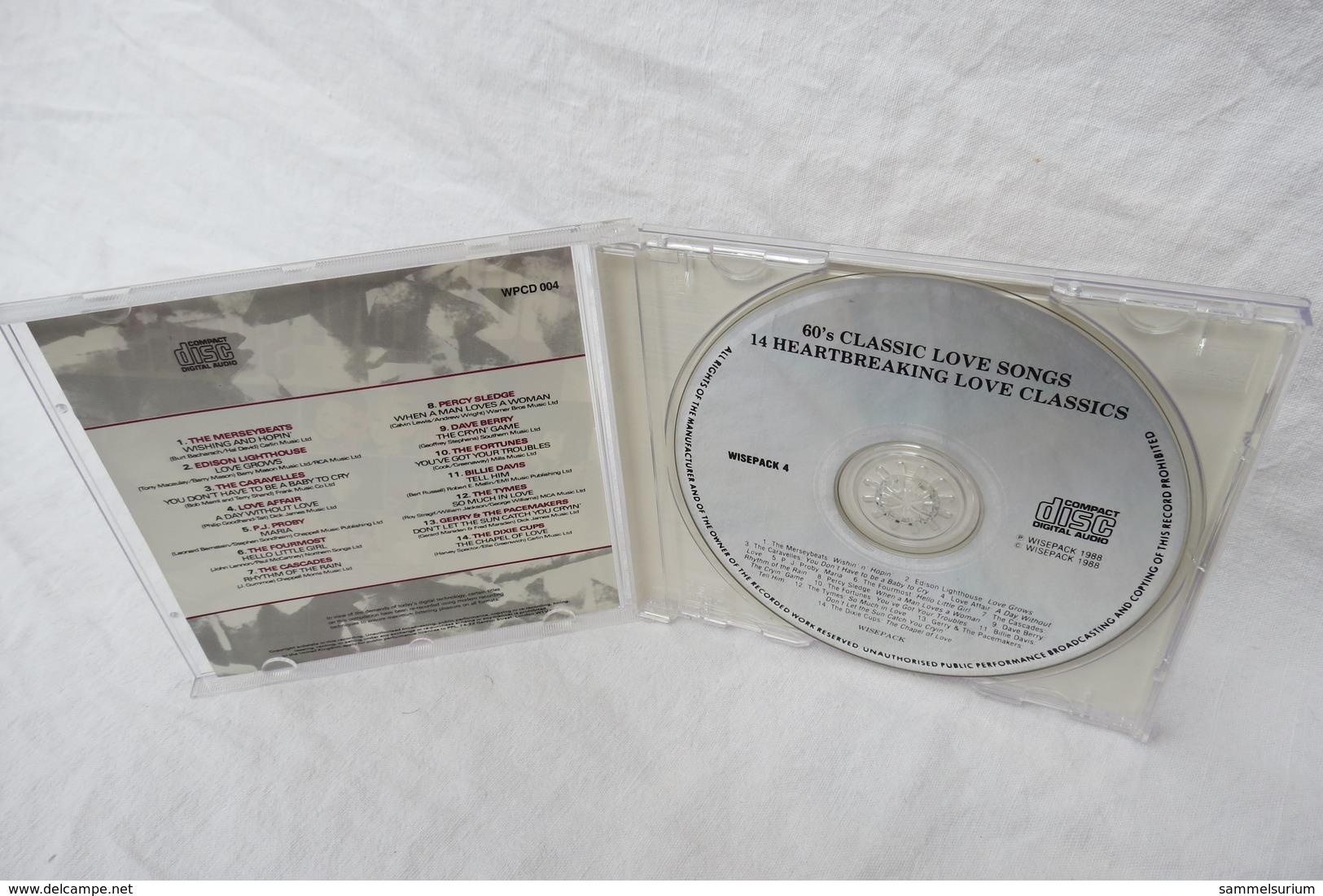 """CD """"60's Love Songs"""" Div. Interpreten - Musik & Instrumente"""