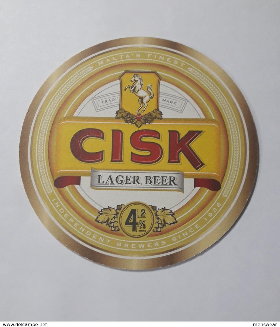 MALTA - FARSONS  CISK LAGER  MATT - - Beer Mats
