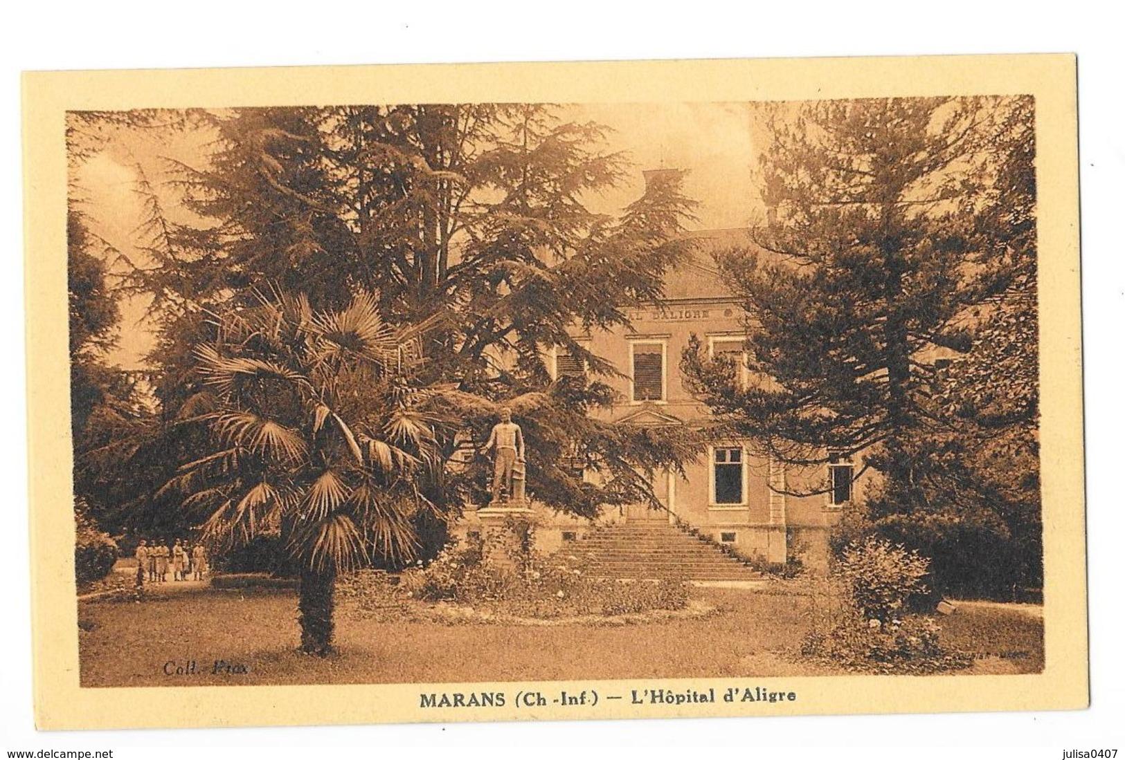 MARANS (17) L'Hopital D'Aligre - Autres Communes