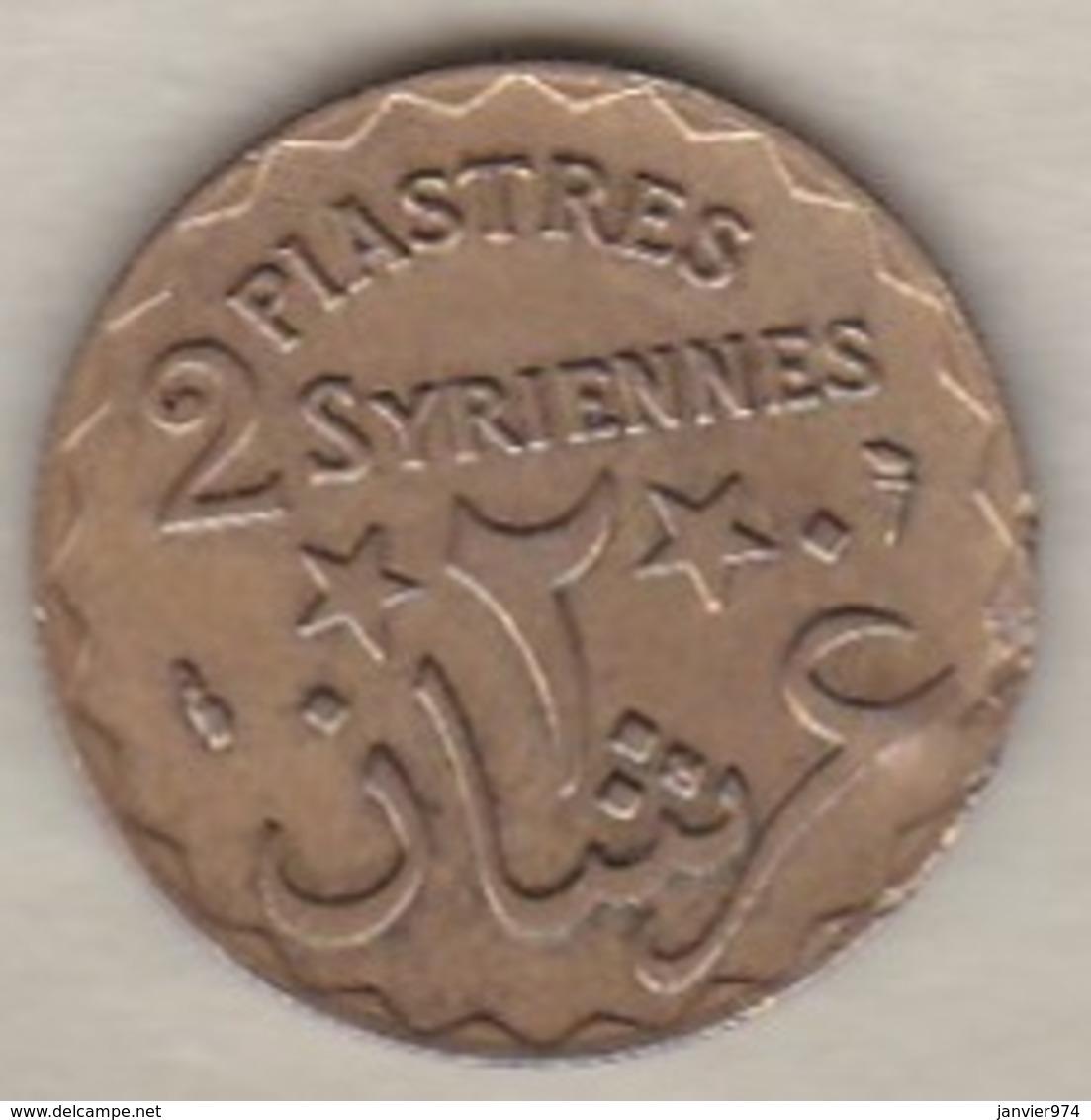 ETAT DU GRAND LIBAN. 2 PIASTRES SYRIENNES 1924 - Liban