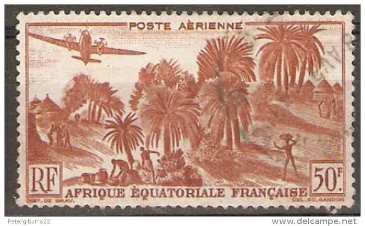 IFrench Equatorial Africa  1947  SG  254   Fine Used - Französisch-Kongo (1891-1960)