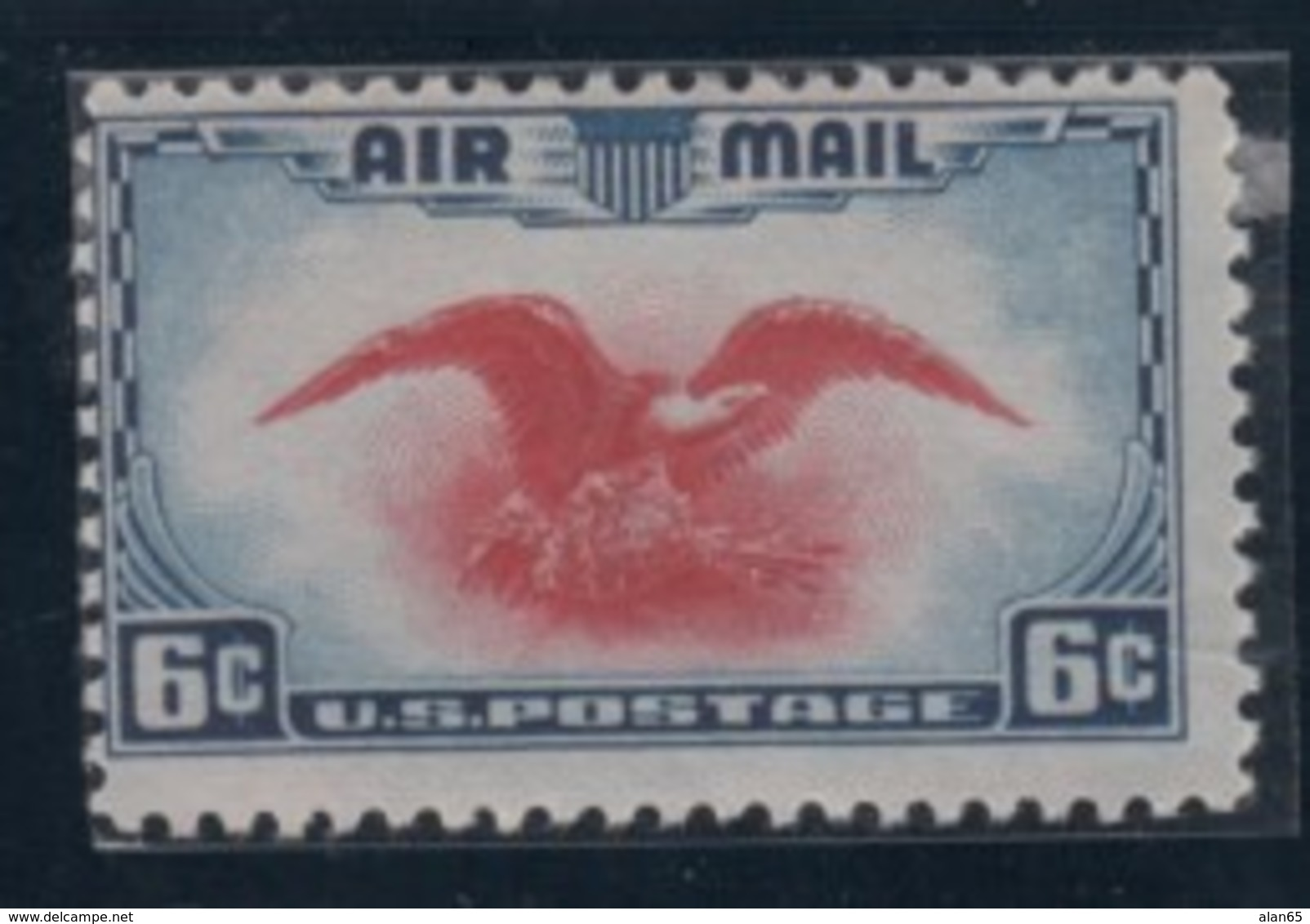 Lot Of 4 Mint US Air Mail Stamps, Sc#C20 25c #C21 20c, #C22 50c China Clipper Series, #C236c Air Mail 1935-38 Issues - Air Mail
