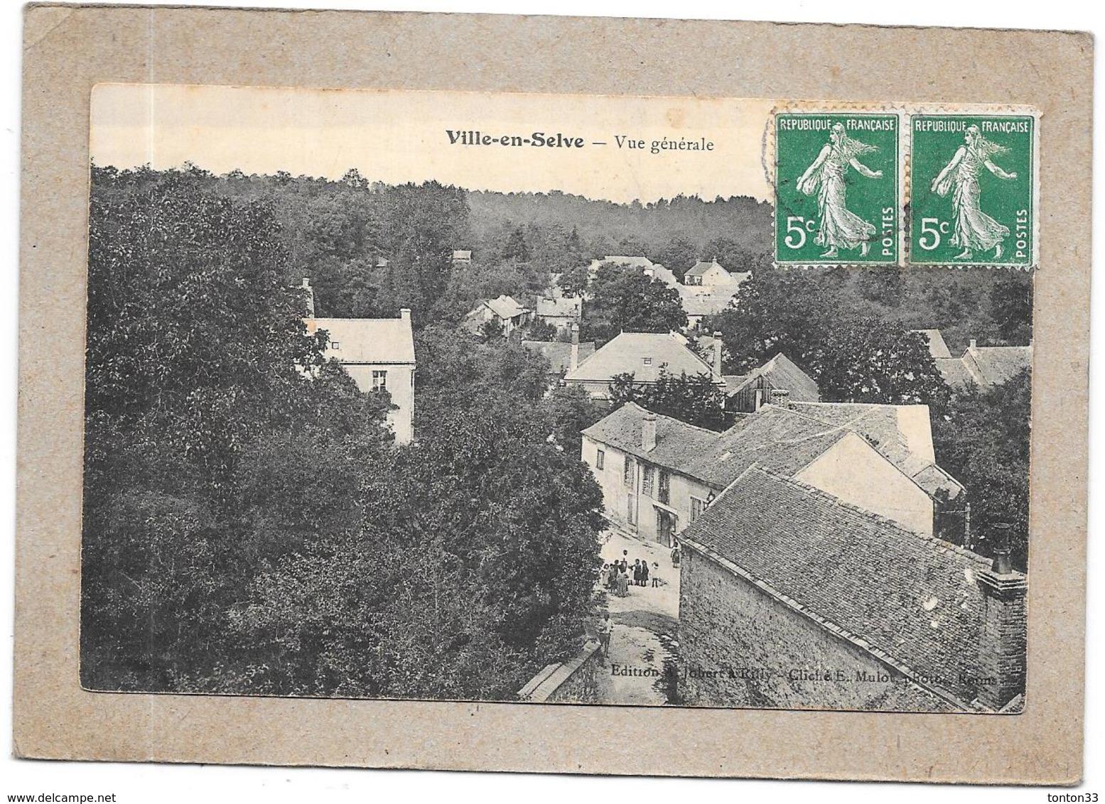 VILLE EN SELVE - 51 - Vue Générale De La Ville - DELC4 - - Autres Communes