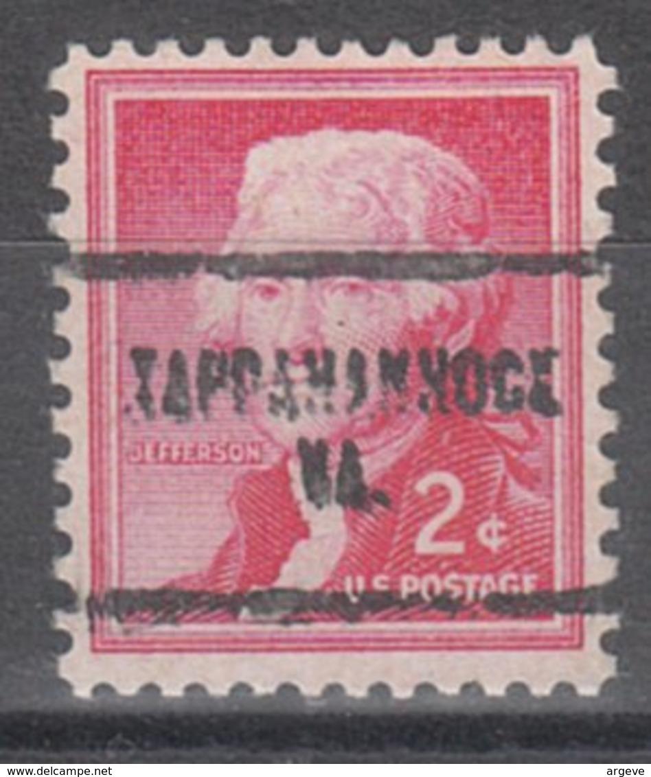 USA Precancel Vorausentwertung Preo, Locals Virginia, Tappahannock 704 - Vereinigte Staaten