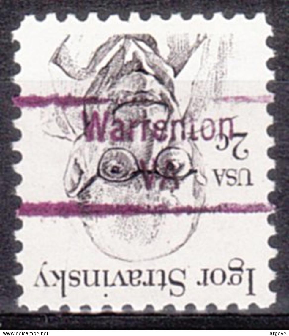 USA Precancel Vorausentwertung Preo, Locals Virginia, Warrenton 853 - Vereinigte Staaten