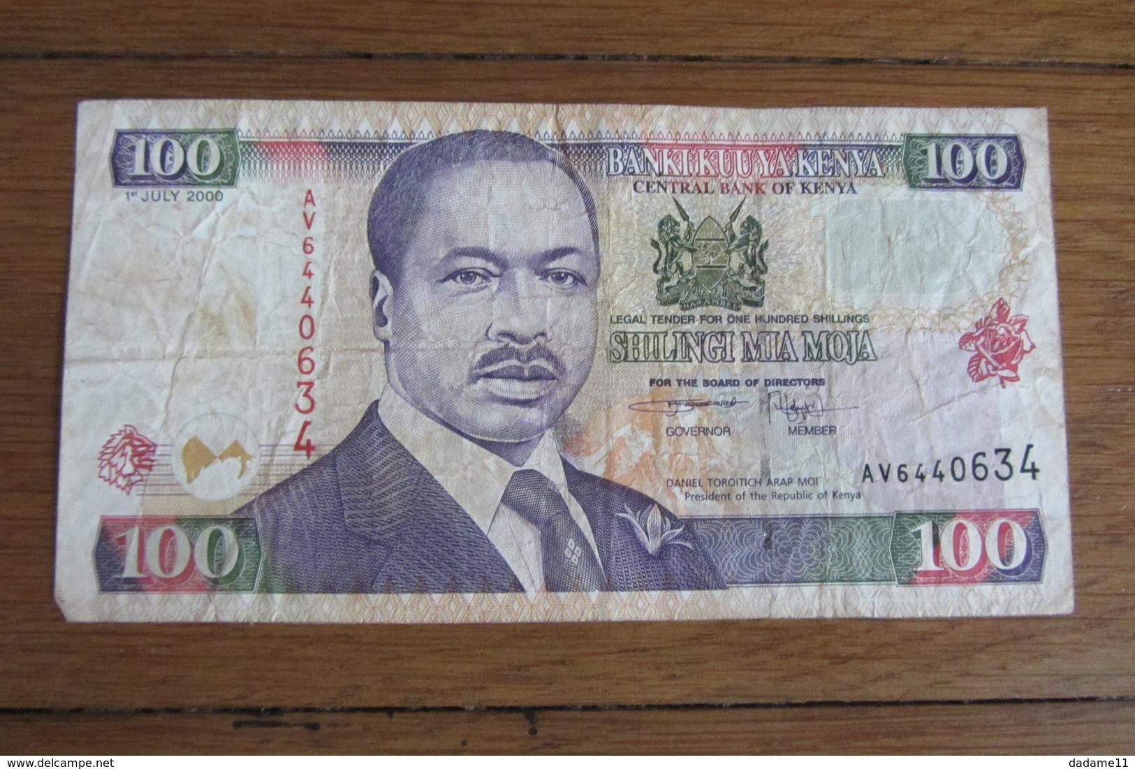 100 Shillingi Kenya - Kenya
