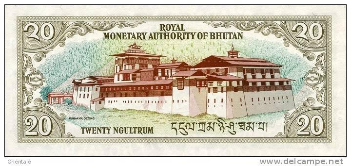 BHUTAN P. 23 20 N 2000 UNC - Bhoutan