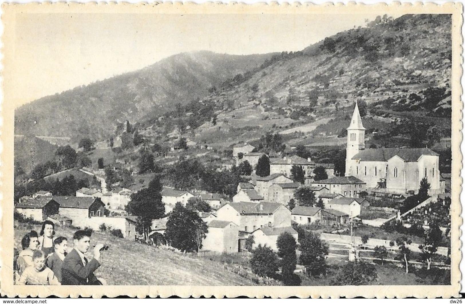 Rochepaule (Ardèche) - Vue Générale Prise Côté Sud, Eglise - Edition Goutagny Et Trolliet - France
