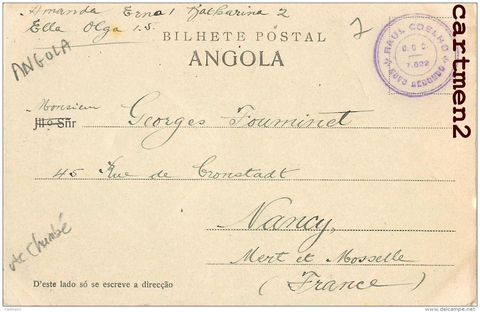 ANGOLA CATUMBELLA CASA DE BENIGNO FERREIRA AFRIQUE - Angola