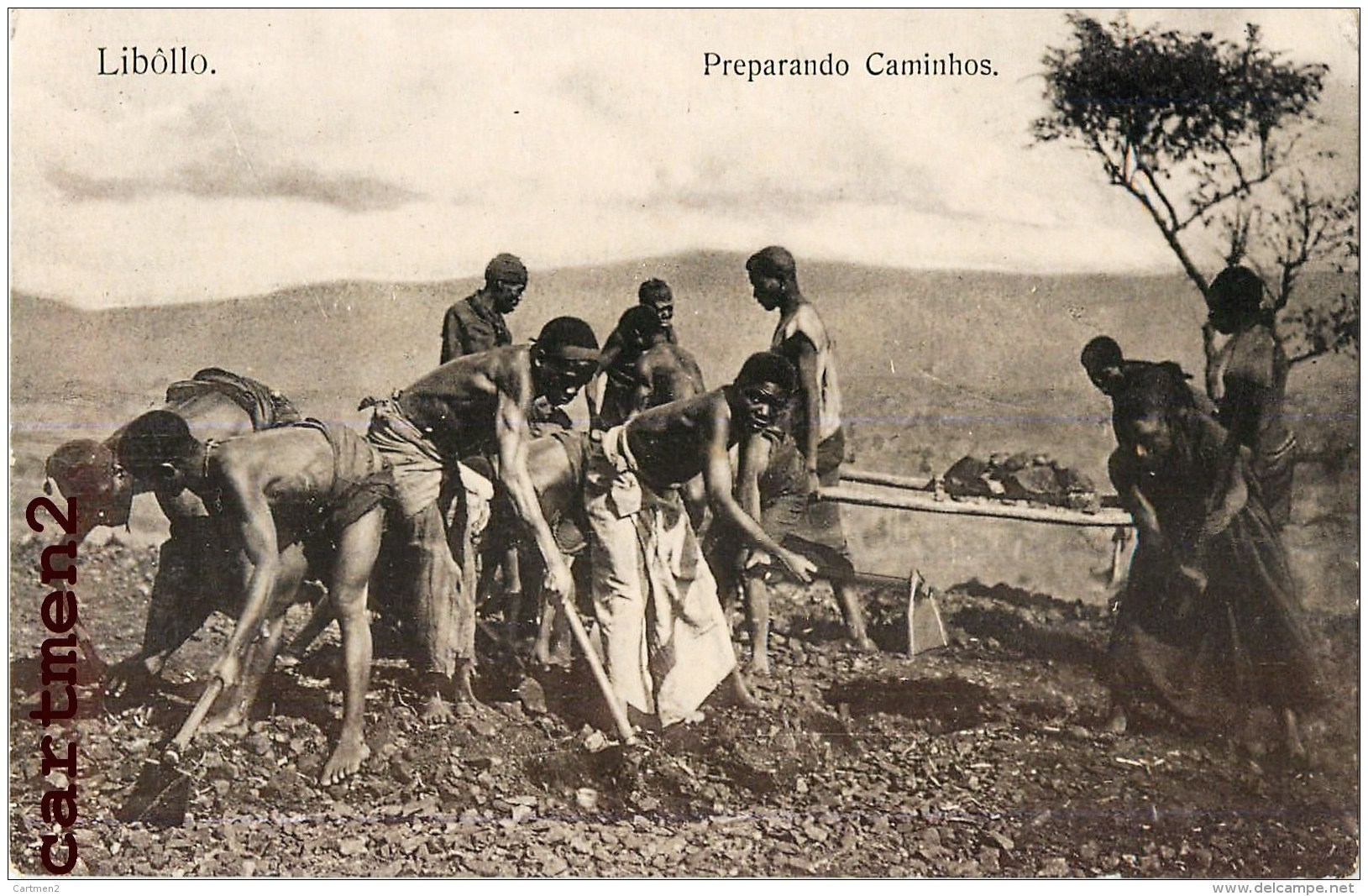 ANGOLA LIBOLLO PREPARANDO CAMINHOS AGRICULTURE ETHNOLOGIE AFRIQUE - Angola