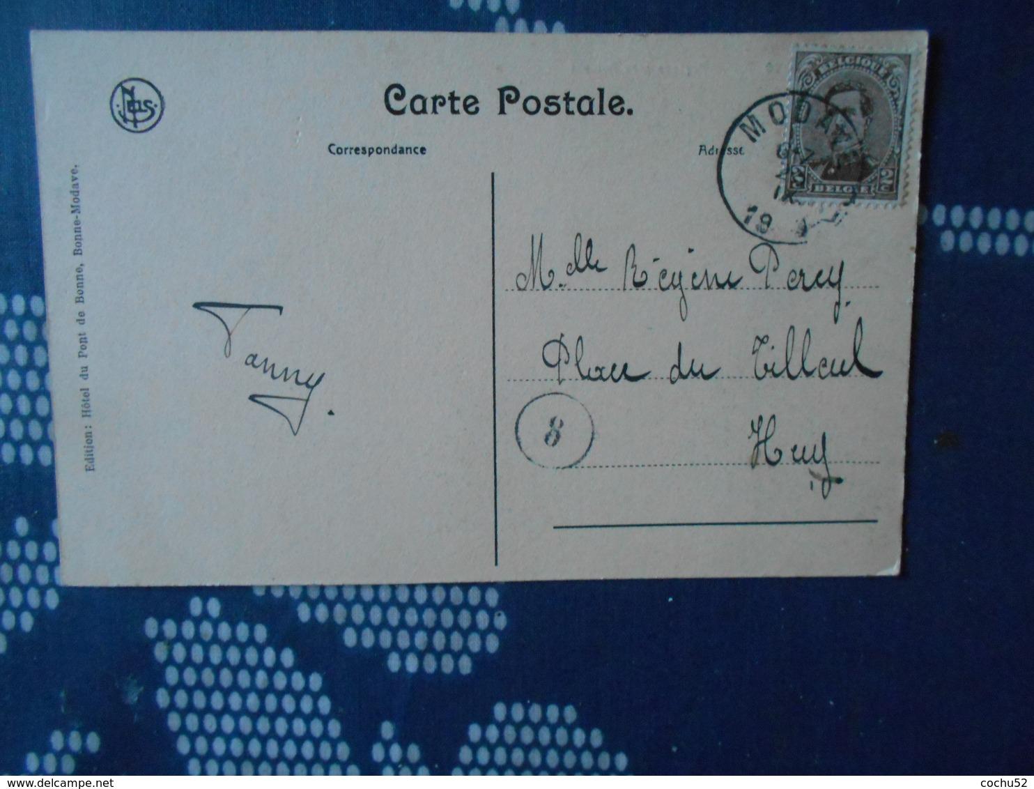 Modave – Paysage Près Roiseux---Hôtel Du Pont De Bonne/Nels (écrite) - Modave