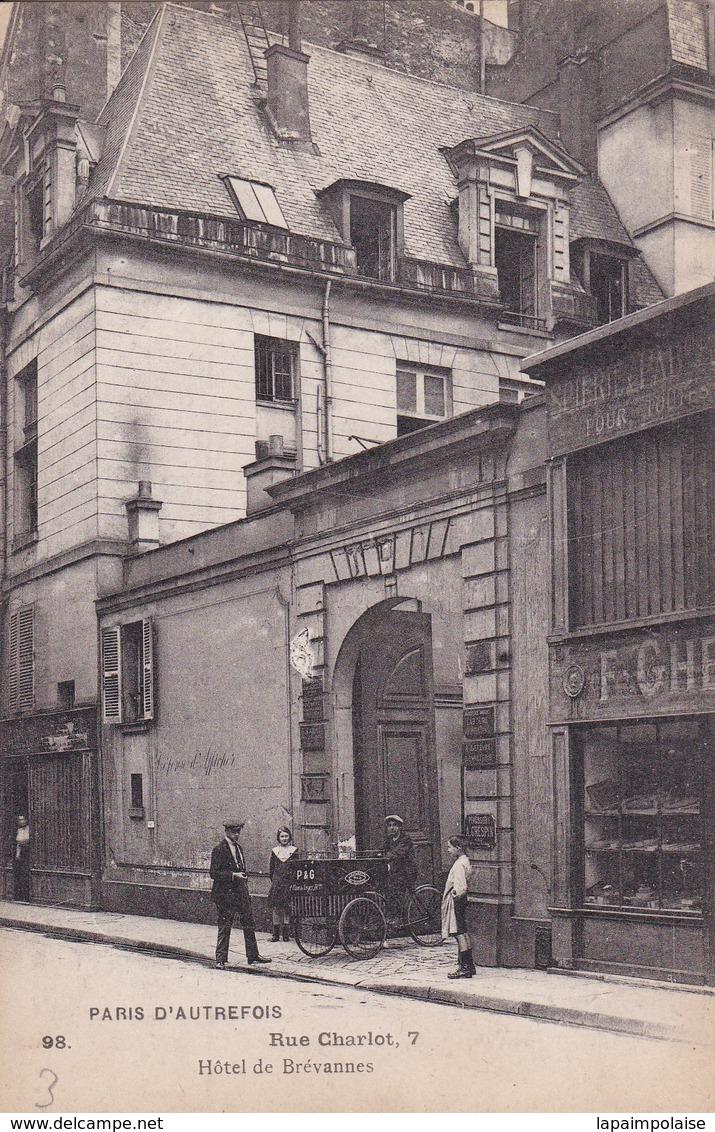[75] Paris > Arrondissement: 3 7 Rue Charlot Hôtel De Brevannes - Paris (03)