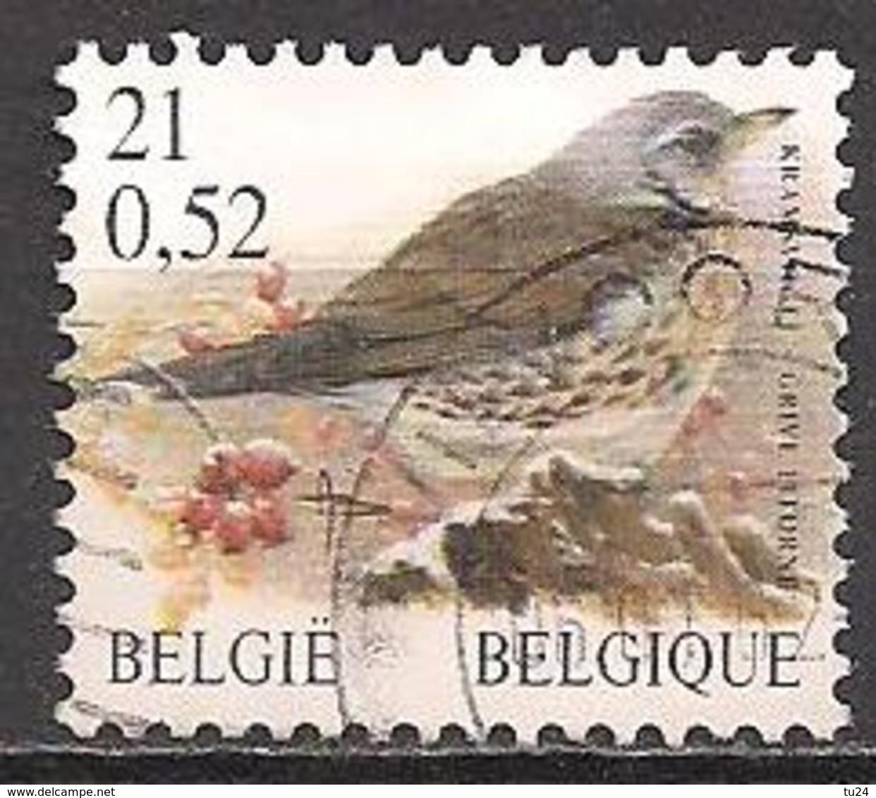 Belgien  (2001)  Mi.Nr.  3037  Gest. / Used  (13aa02) - Belgium