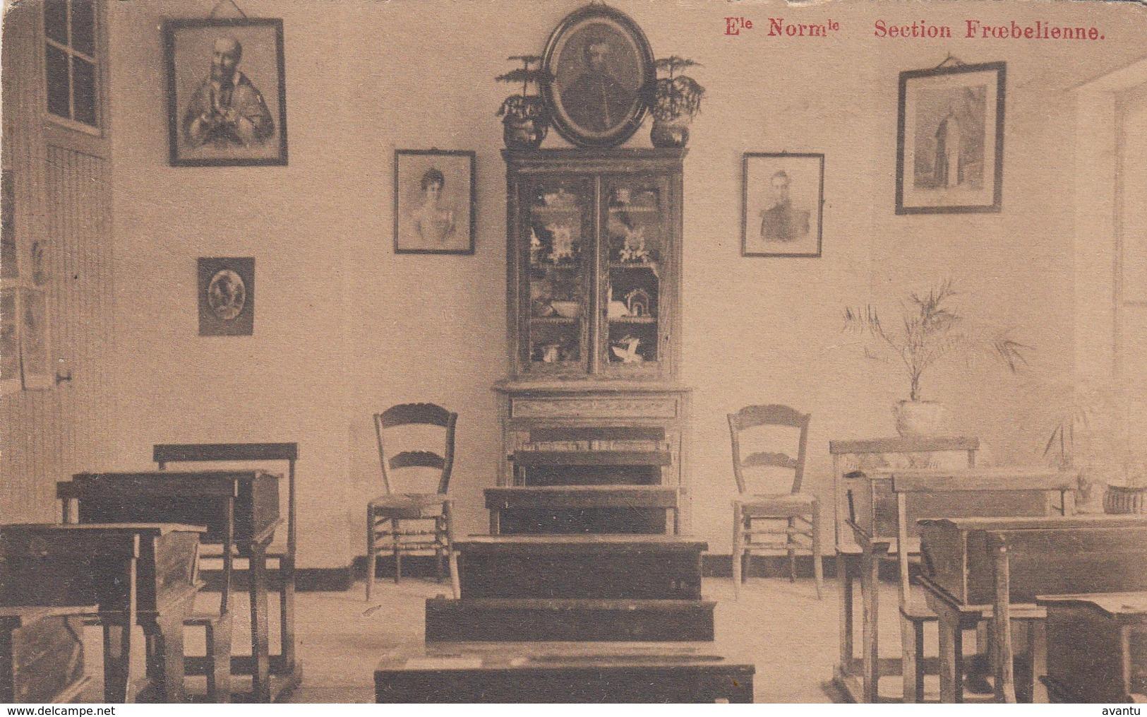 GENT / VISITATIE ST AMANDSBERG / KLEUTERKLAS  1912 - Gent
