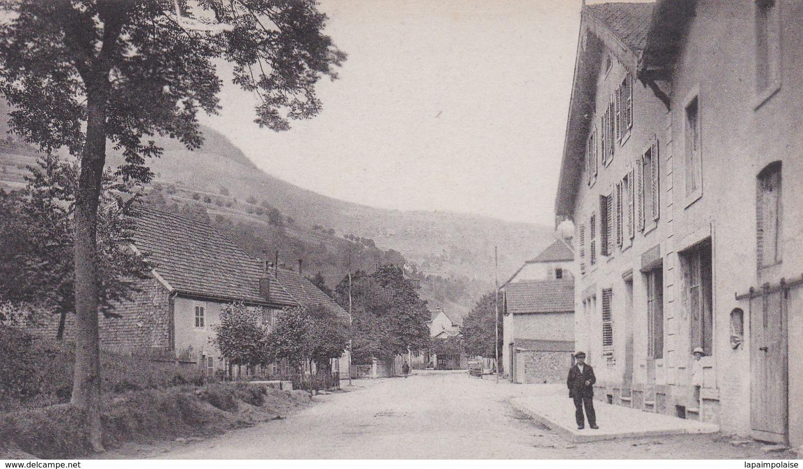 [88] Vosges > Bussang Entrée De La Ville Par La Route De St Maurice Photo Weick - Bussang