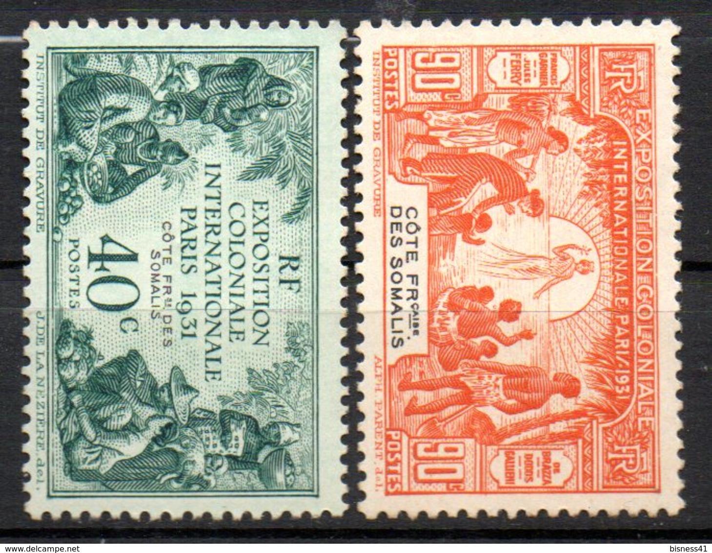 Col10    Cote Des Somalis  N° 137 & 139 Neuf X MH Cote : 16,50 Euro - Côte Française Des Somalis (1894-1967)