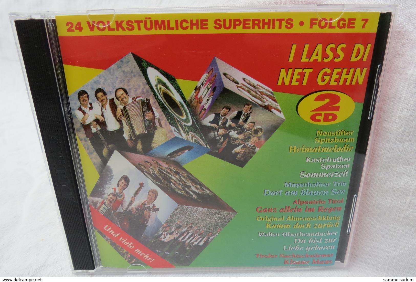 "2 CDs ""I Lass Di Net Gehn"" 24 Volkstümliche Superhits - Sonstige - Deutsche Musik"