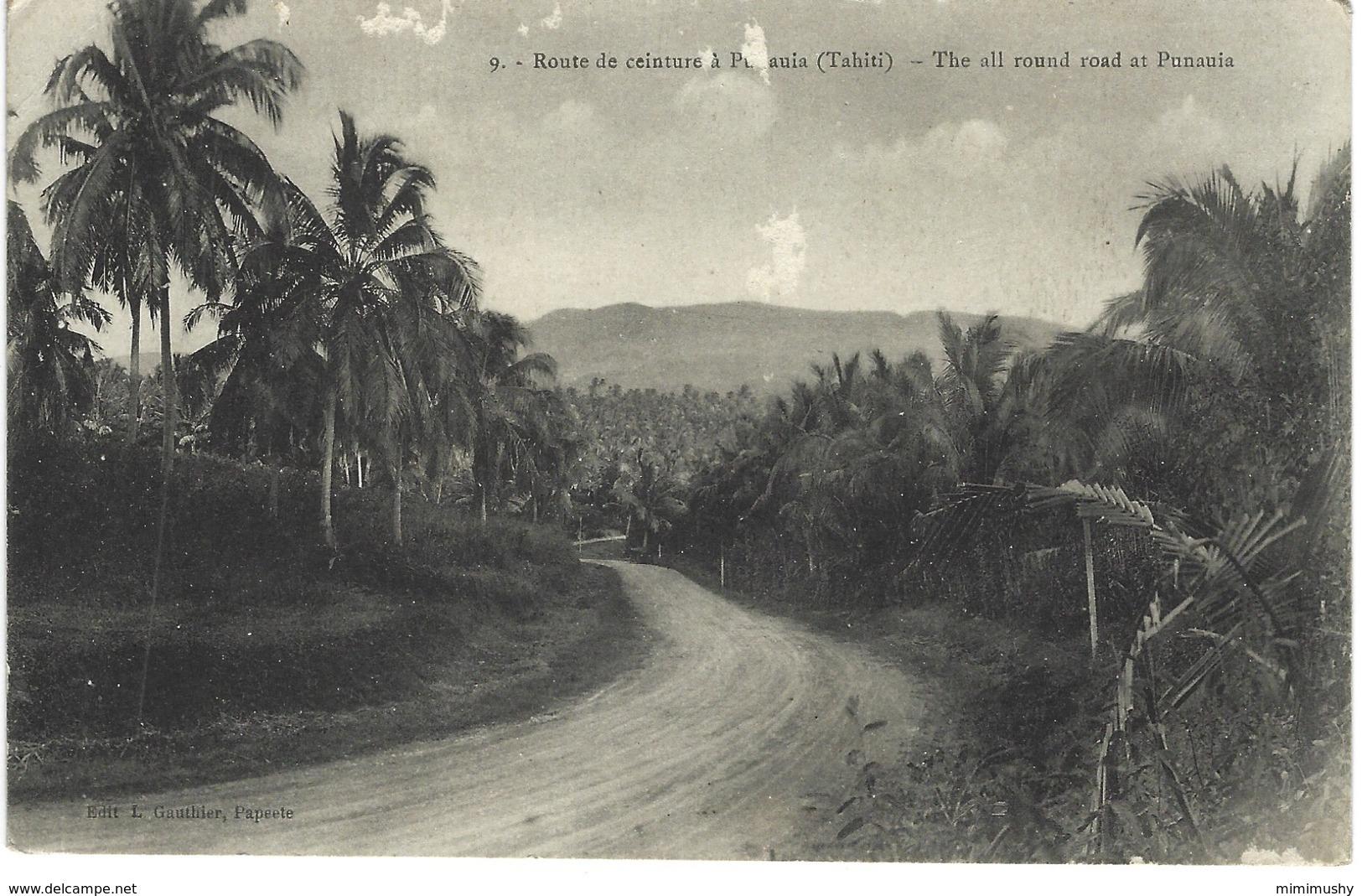 Tahiti - Route De Ceinture à Punaauia - Tahiti