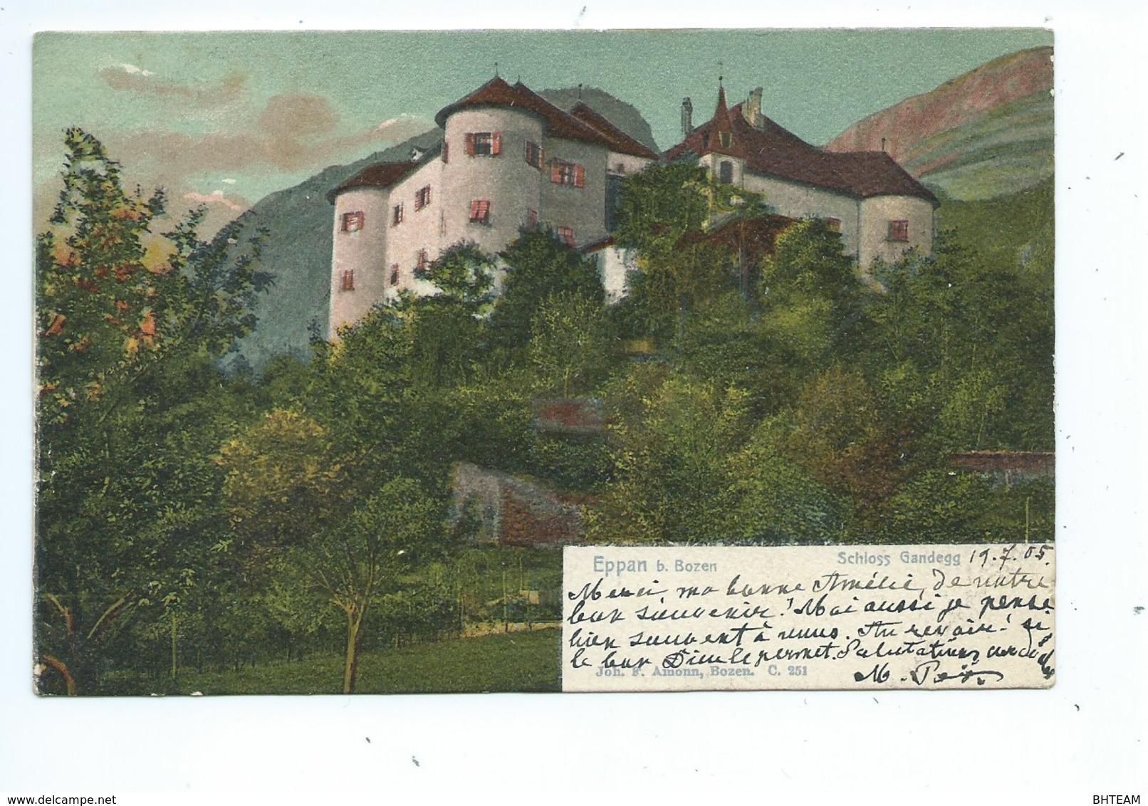Eppan Bozen Schloss Gandegg - Bolzano