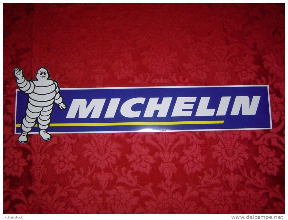 """Autocollant """"MICHELIN"""" Grand Modèle. - Autocollants"""