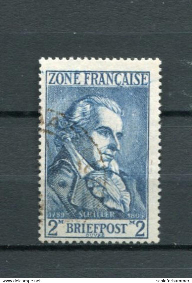 All,Besetz, F.zone Mi 12 Gest #3194 - Zone Française