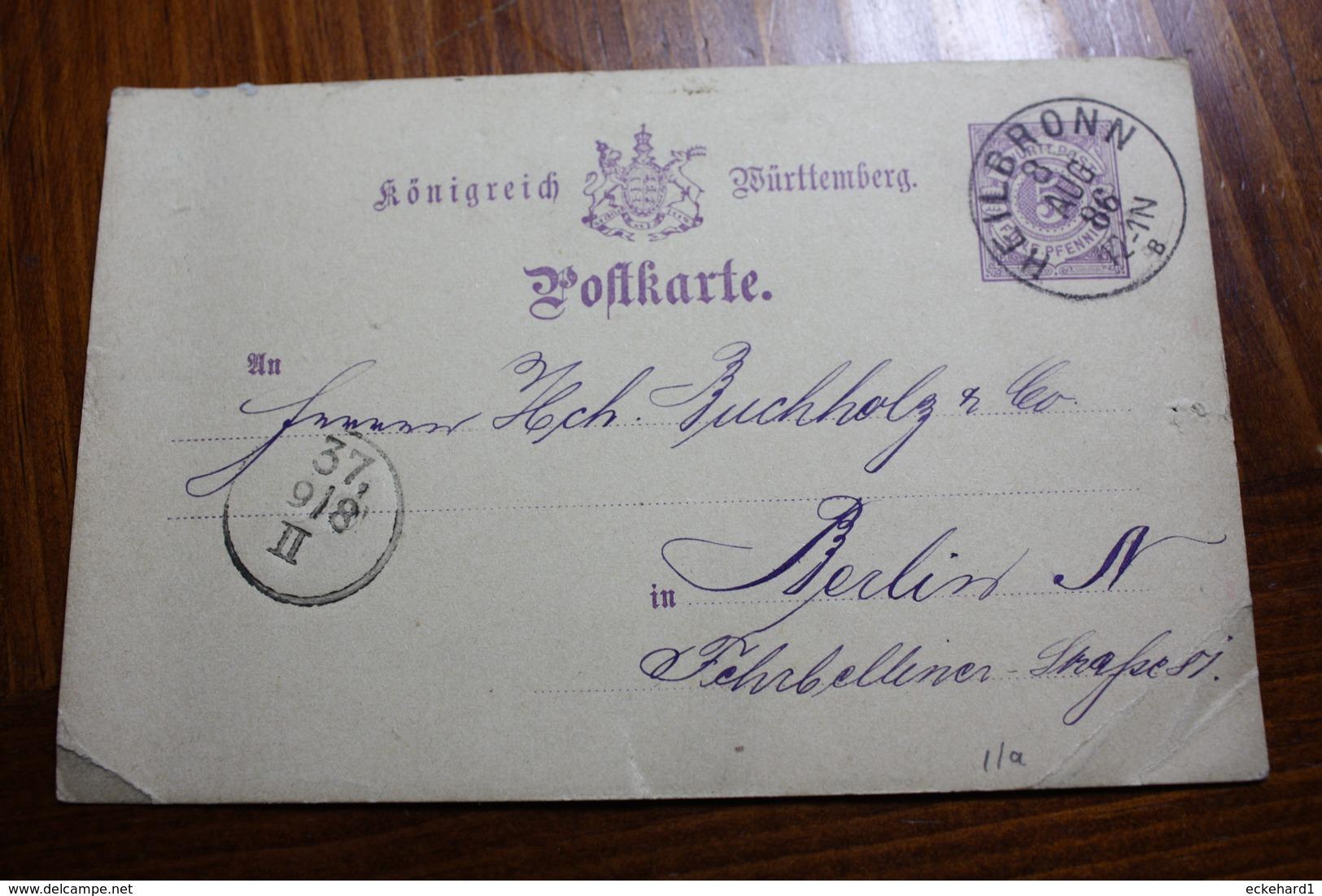 ( 083 ) GS P 26 II A Gelaufen  - Erhaltung Siehe Bild - Wurttemberg